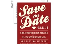 save the date / by Debra Gibbs