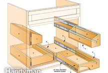 Make cabinet drawers