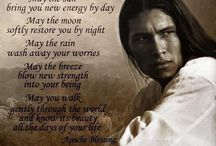 native American prayer /quotes