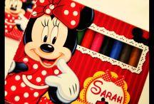 Minnie - Mickey Party / Tema Minnie e Mickey Mousa  Minnie Party ideas