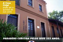 Curitiba 323 anos / Uma homenagem a Curitiba pelos seus 323 anos de muita história.
