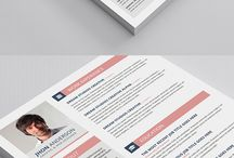 Creative Resume Template / Resume template pack for MS Word (.docx, .doc) and Photoshop (.psd) and PDF Download Here : http://graphicriver.net/item/resume/11515457