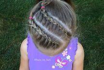 peinado de niñas y niños