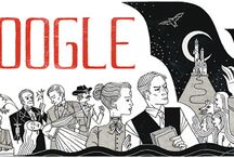 Doodle literarios o bibliotecarios / Seleccionados Hasta Halloween 2010