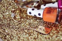 Glitter {makes the world go round}
