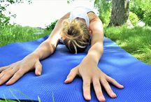 YOGA poses and sequences