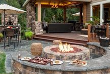 Backyard+grilling station