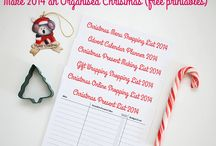 Christmas / Christmas traditions, gift ideas and organisation!