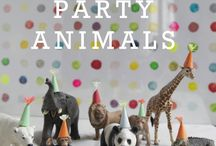 Parties ideas for small and big / by Frederique T