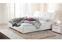 Hálószoba, ágy / Most már kialakult egy koncepció az ágyra. Ágykeret + matrac. Ahol az ágykeret legyen textil bevonatú.