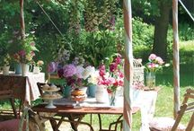 Beautiful Places, Outside: Gardens, Porches, and Outdoor Living Spaces 1 / by Barbara Whitford