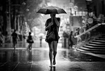 Let's just go walking in the rain!