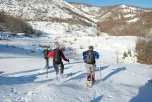 Snowshoeing in Albania / Snowshoeing in Albania is a fascinating trip which combines great mountain scenery, unique insights into the local culture and fantastic snowshoeing routes in the Alps. Crossing the border into Kosovo as we snowshoe will as well be another great day.