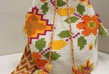 wayuu çantalar yastıklar