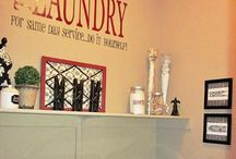 Laundry Room Decor / The collection about laundry room decoration. Here you can get inspiration before decorate the laundry room