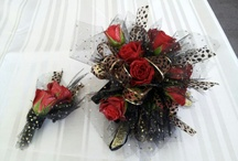 Corsages and Boutonnieres / The best you can wear!  Flowers for all occasions Prom, Mother's Day, Wedding, Guests of Honor, anyone special on a special day can be adorned with flowers!
