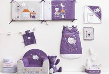 Bébé dort / Découvrez notre sélection de parures de lit pour accompagner Bébé dans le pays des rêves !