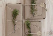 Innpakning og gaveideer