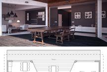 Küçük ev planları