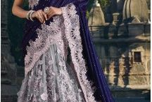 Bridal Sarees Collections / Buy wedding Saree for brides from Heenastyle online. We have wedding sari collections from Indian designers in latest designs and patterns for USA, UK with 100% quality and on best price. http://www.heenastyle.com/sarees/bridal-sarees