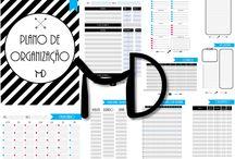 Printable Planner - Planos de Organização