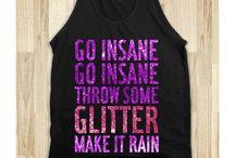 glitter party / 30th birthday ideas