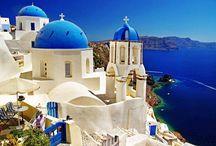 Insula Santorini - Insula Îndrăgostiților / Santorini este destinația cu cele mai spectaculoase peisaje din Grecia
