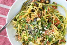 Zucchini and Cauliflower recipes
