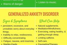 Anxiety stages