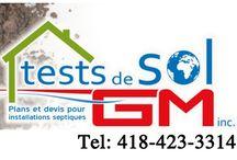 Tests de percolation St-Georges / Tests de percolation St-Georges