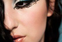 Henna eye makeup