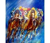 Horse Racing  - Fine Art Cards