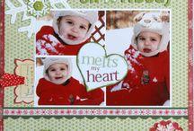 Scrapbook Christmas ideas / And winter