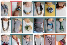 Fabric Jewelry / by Julie Carmichael