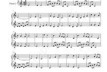 Partituras piano y clarinete