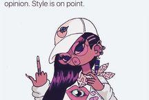 Girl cartoons