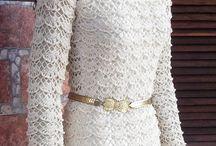 vestido de croche Roseli