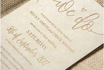 Ρουστίκ προσκλήσεις γάμου