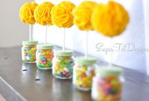 Baby shower ideas for my girls / by Mary Perez