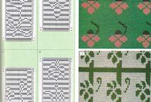 機械編み図案