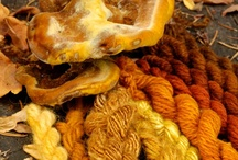 Yellow / Natural dyes that yield gorgeous yellow tones
