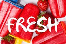 fresh!   coisas refrescantes / Refrescar ideias? Sim! ◊ Refreshing ideas