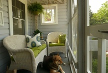 side porch / by Stacy Merchant