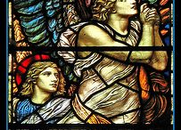 Stained Glass Angels from around the world