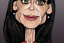 we have Caricatures / by Katina Smith