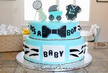 Baby Shower Cakes / 10 little fingers, 10 little toes - and cake, don't forget the cake!  / by BabyBump
