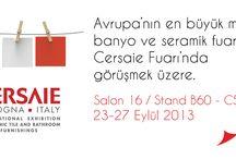 Cersaie Fuarı / Avrupa'nın en büyük mutfak,banyo ve seramik fuarı olan Cersaie Fuarı'ndayız.