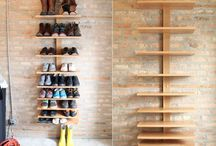 JM: shoe rack