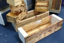 Planter Boxes made from Pallets / Planter Boxes made from Pallets