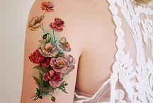 Disegni di tatuaggio di fiore